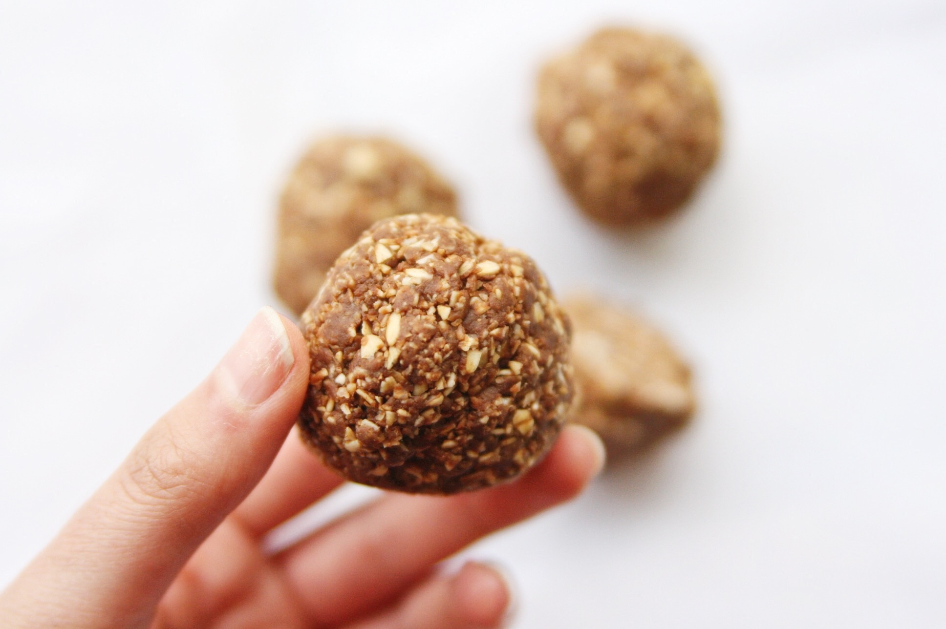 Cacao Bliss Balls with CBD Oil – The Full Life